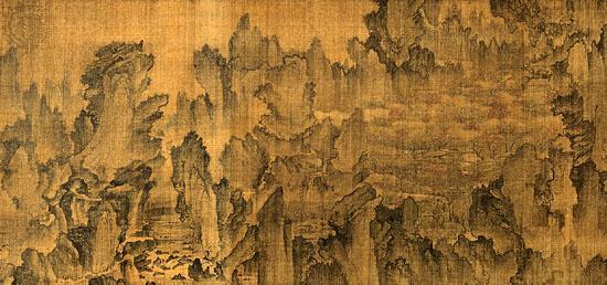 Ан Гён 15 в. Воображаемое путешествие в Страну цветущих персиковых садов. 1447.jpg