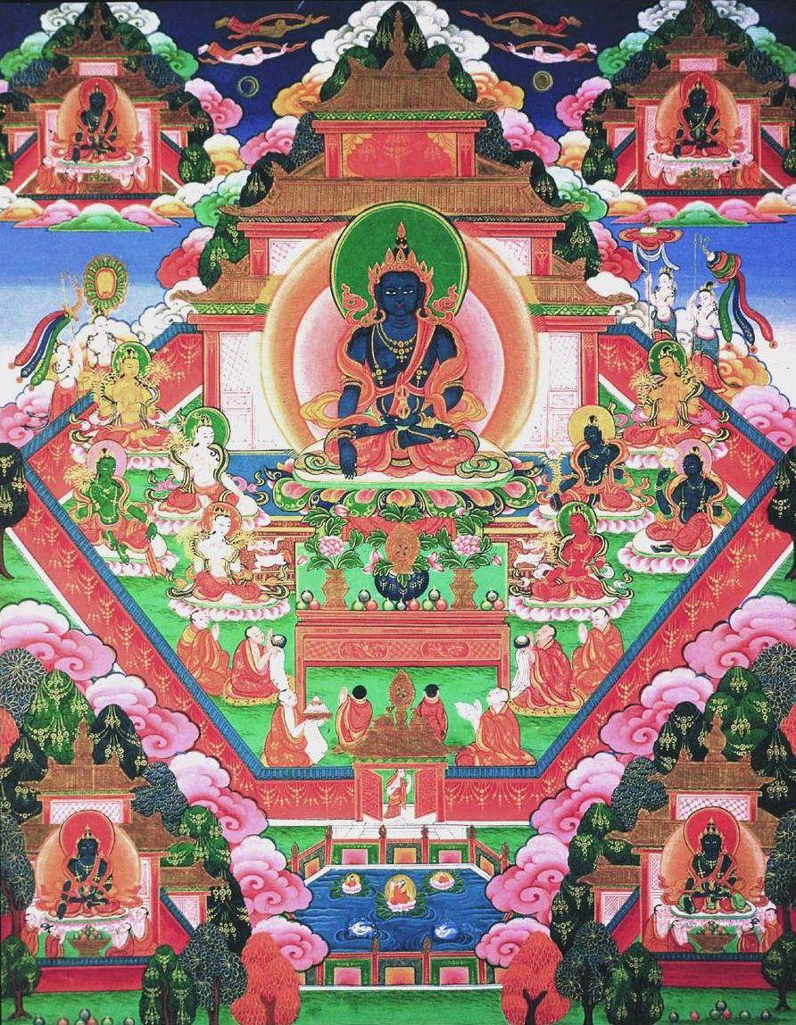 Будда-кшетр, чистая земля Будды Акшобхьи.jpg