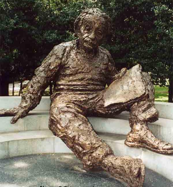 Вашингтон. Памятник Эйнштейну.png