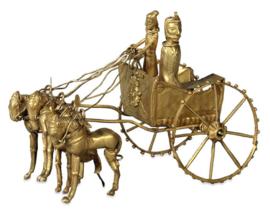 Золотая модель колесницы из Амударьинского клада.png