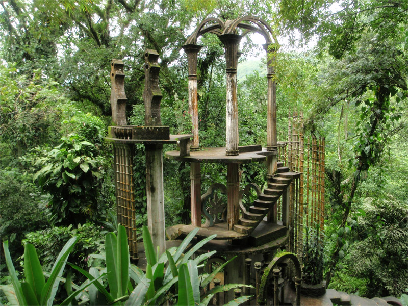 Лас Позас, Мексика (The Gardens of Las Pozas, Xilitla, Mexico) n.jpg