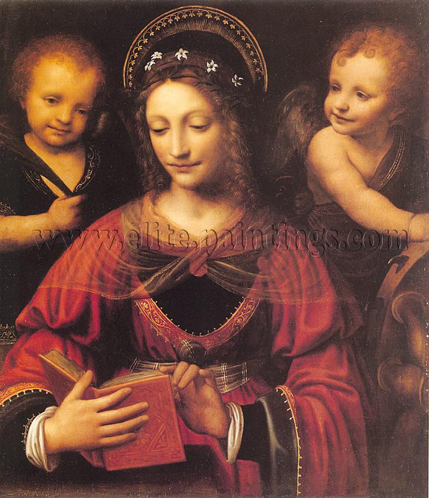 Луини Бернардино Дева во славе.jpg