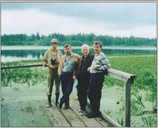 На Большом Жеренском озере, 11 июля 1997.jpg