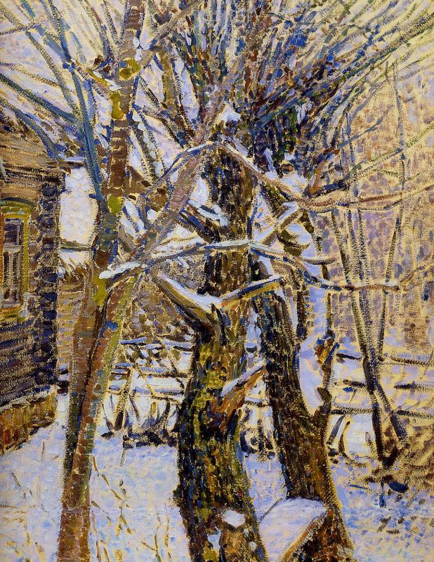 Николай-Мешерин--Mescherin-Nikolai-November-Small-porch-Sun.jpg