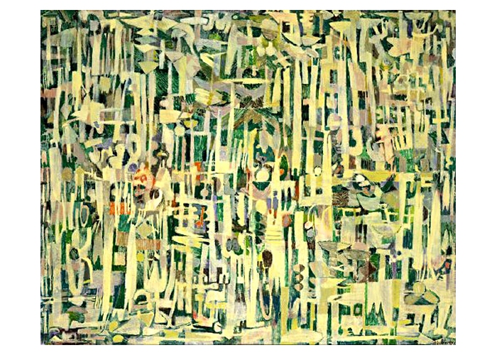 Пьер Алешинский -Les hautes herbes-, 1951.jpg