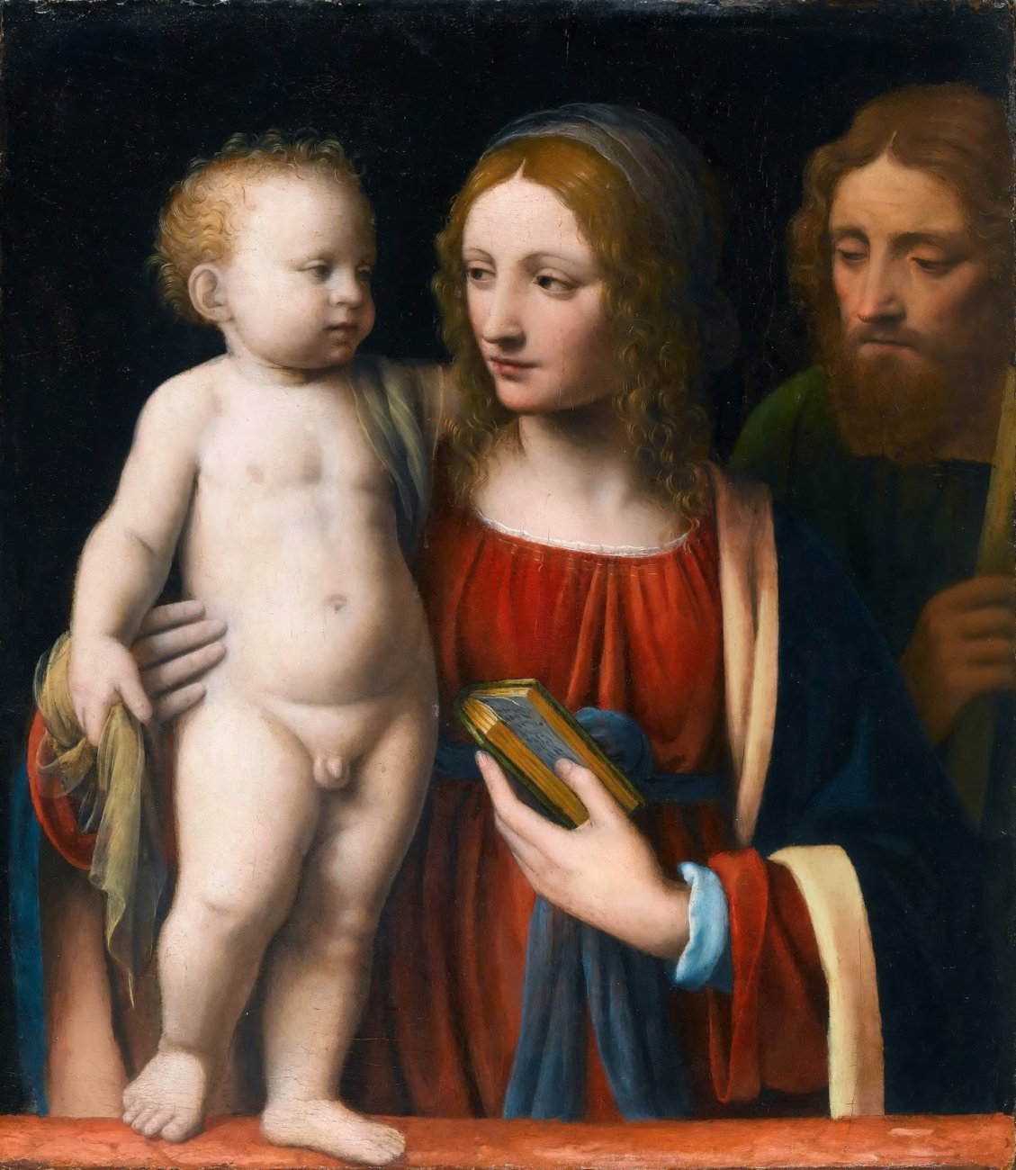 Святое семейство_1510-1515_51 х 44_Париж, Лувр.JPG