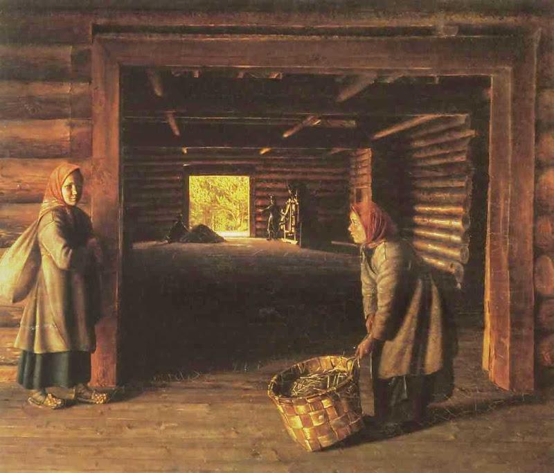 Сорока Григорий Васильевич. Гумно. 1843.jpg