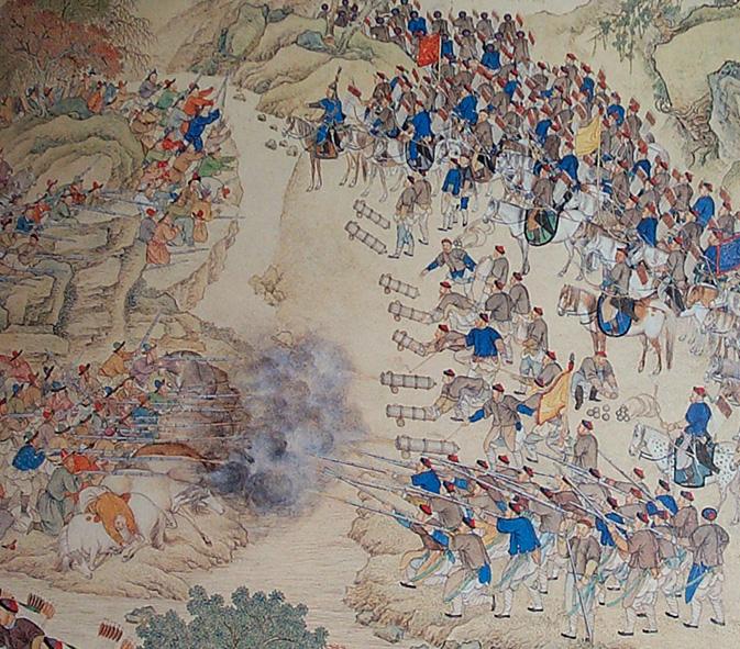 Сражение_при_Ешилькуле,_1759,_уйгуры-кашкарцыvsманьчжуро-монголы-ханьцы.jpg