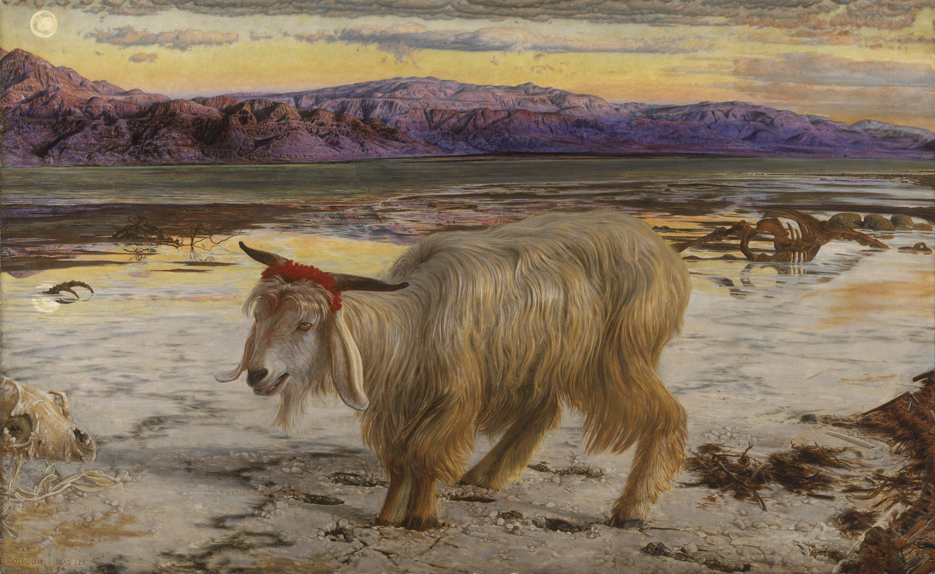 Уильям Холман ХантWilliam_Holman_Hunt_-_The_Scapegoat.jpg