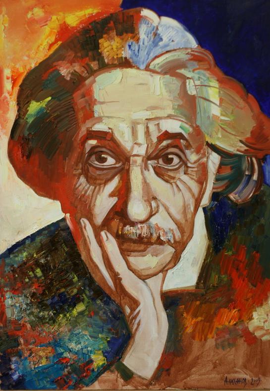 Хаджи-Мурат Алиханов Эйнштейн.jpg