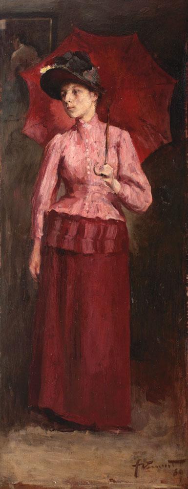 вермонт рум woman-with-red-umbrella-1889.jpg