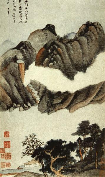 дун цичан Dong_Qichang._Eight_Scenes_in_Autumn.3._Album_leaf._1620._Shanghai_Museum..jpg