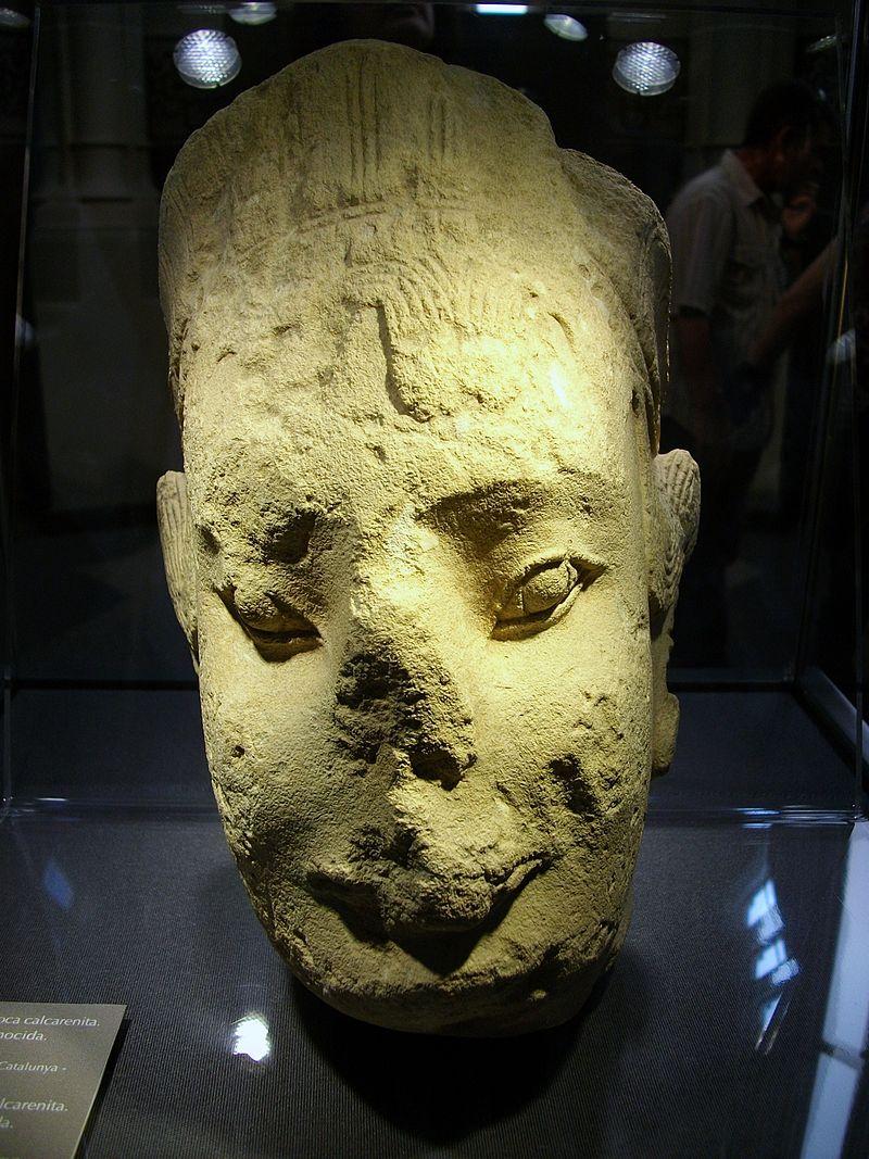 иберия Koré_d'Alacant,_cap_el_500_aC,_Museu_d'Arqueologia_de_Catalunya.JPG