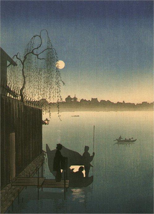 кобаяши (эйдзиро)Evening Cool on Sumida River.jpg