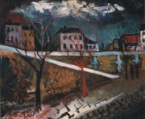 кончаловский evening-on-the-pier-1920.jpg