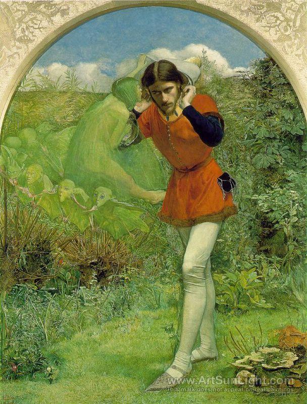 милле ferdinand-lured-by-ariel-by-millais-by-John-Everett-Millais-054.jpg