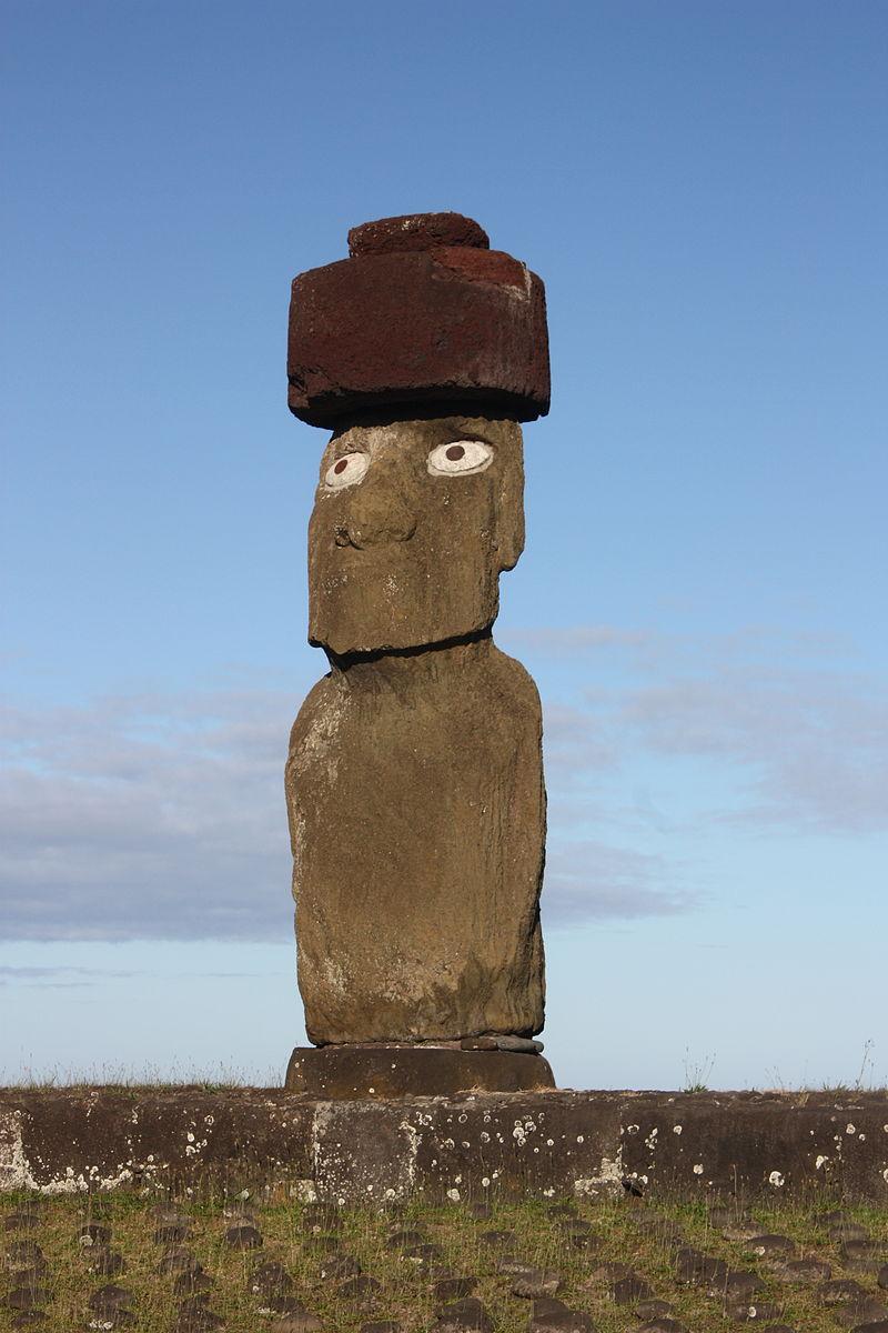 пасхи Easter_Island,_Ahu_Ko_Te_Riku_(6750450381).jpg