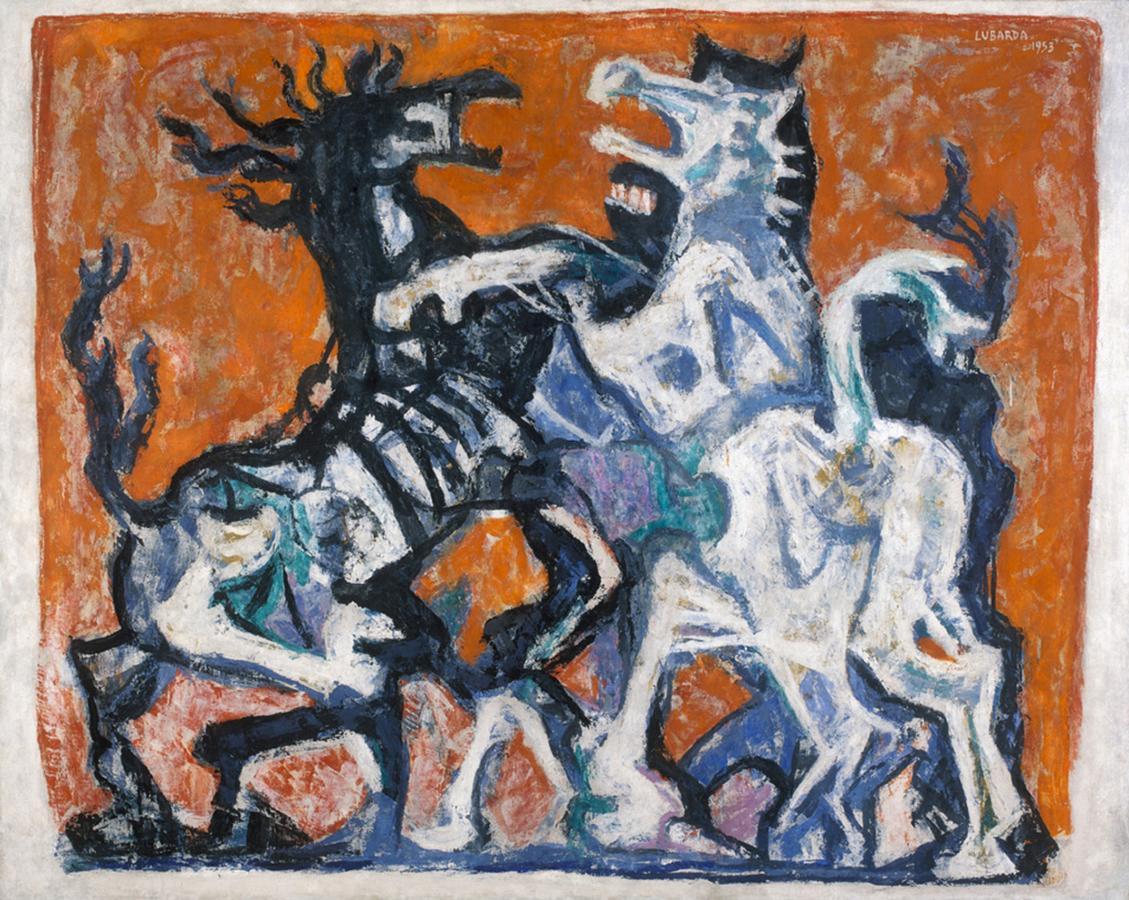 петер лубарда серб naslovna Petar Lubarda-Konji. 1953.jpg