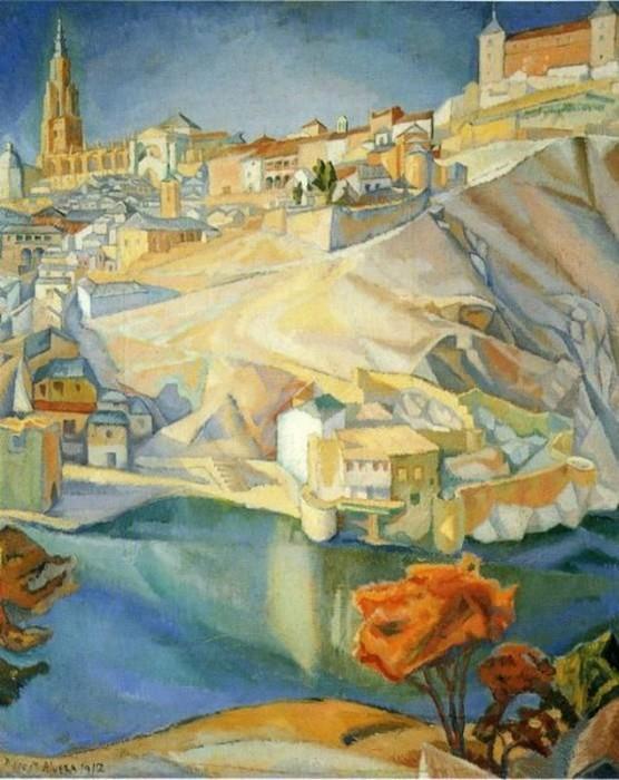 ривера Picture 51 View of Toledo 1912.jpg