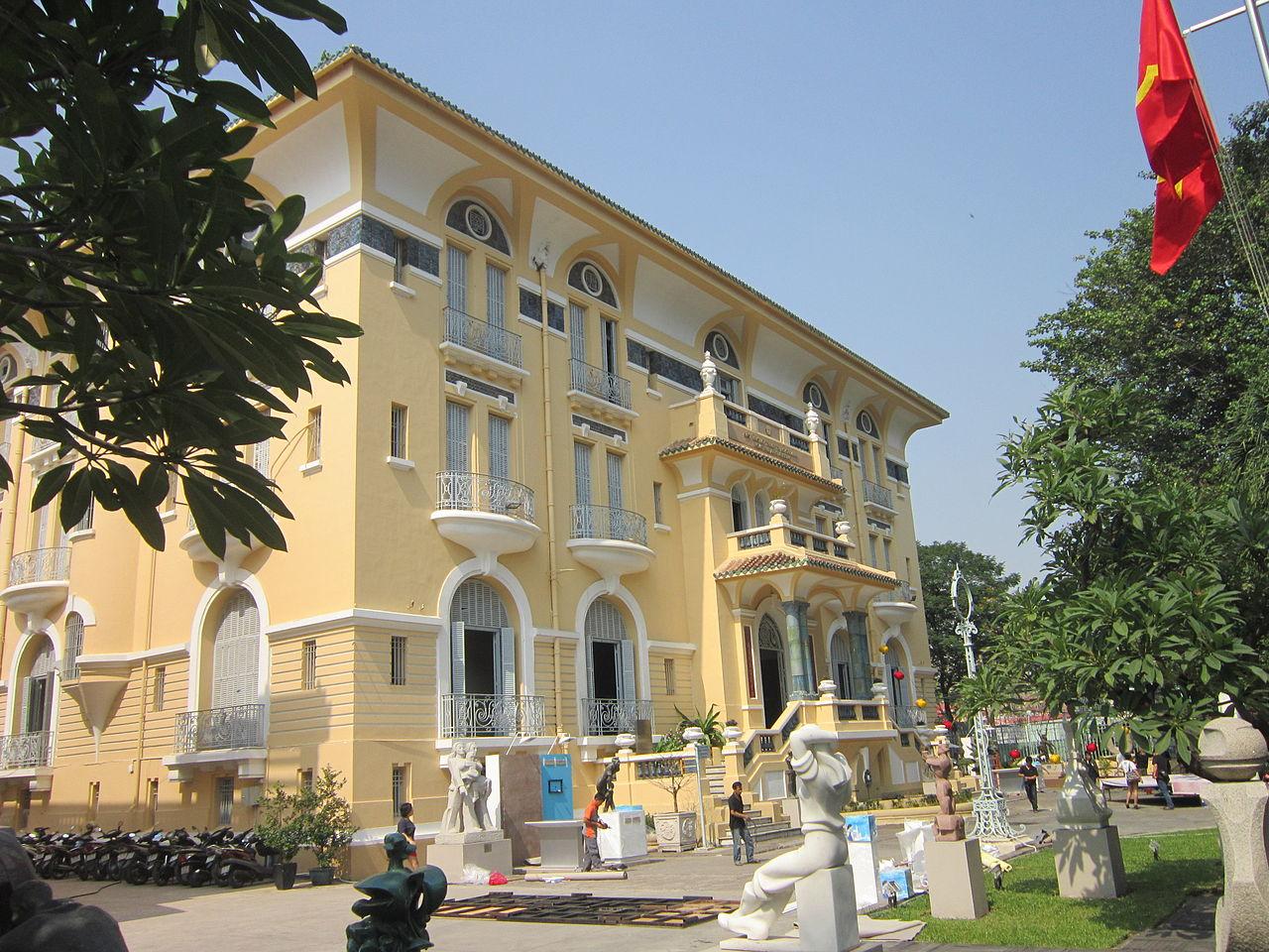 сайгон музей 1280px-Bảo_tàng_Mỹ_thuật_TP.jpg