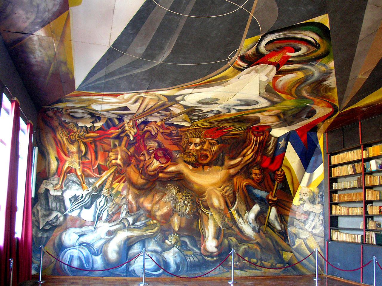 сикейросMurales_de_la_Escuela_México_de_Chillán,.JPG