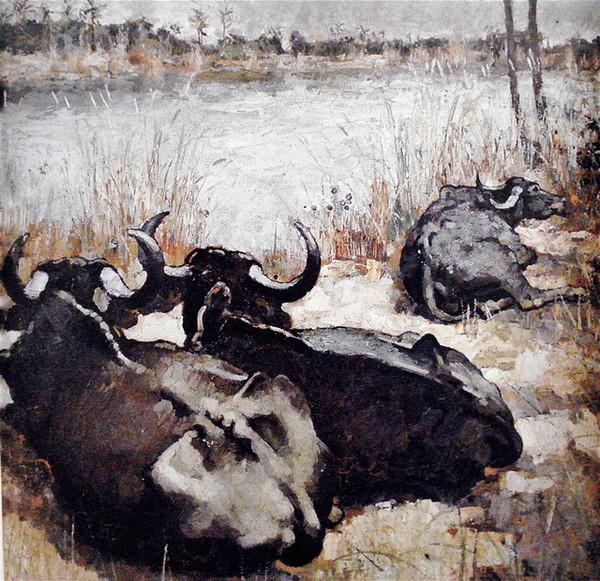 сюй бэйхунIndian cows 1940.jpg