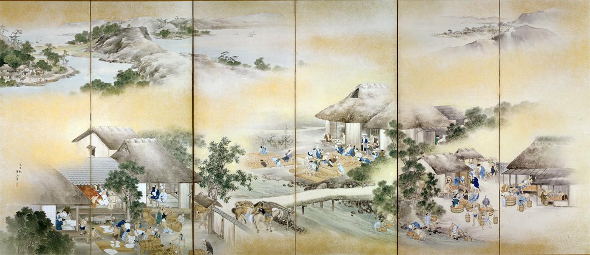 ёкояма кадзан 1784-1837 школа маруяма.jpg