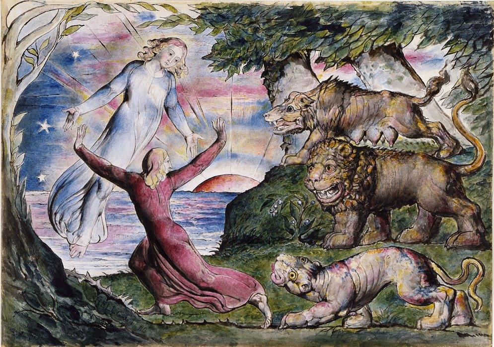 1 Данте, Вергилий и три зверя.jpg