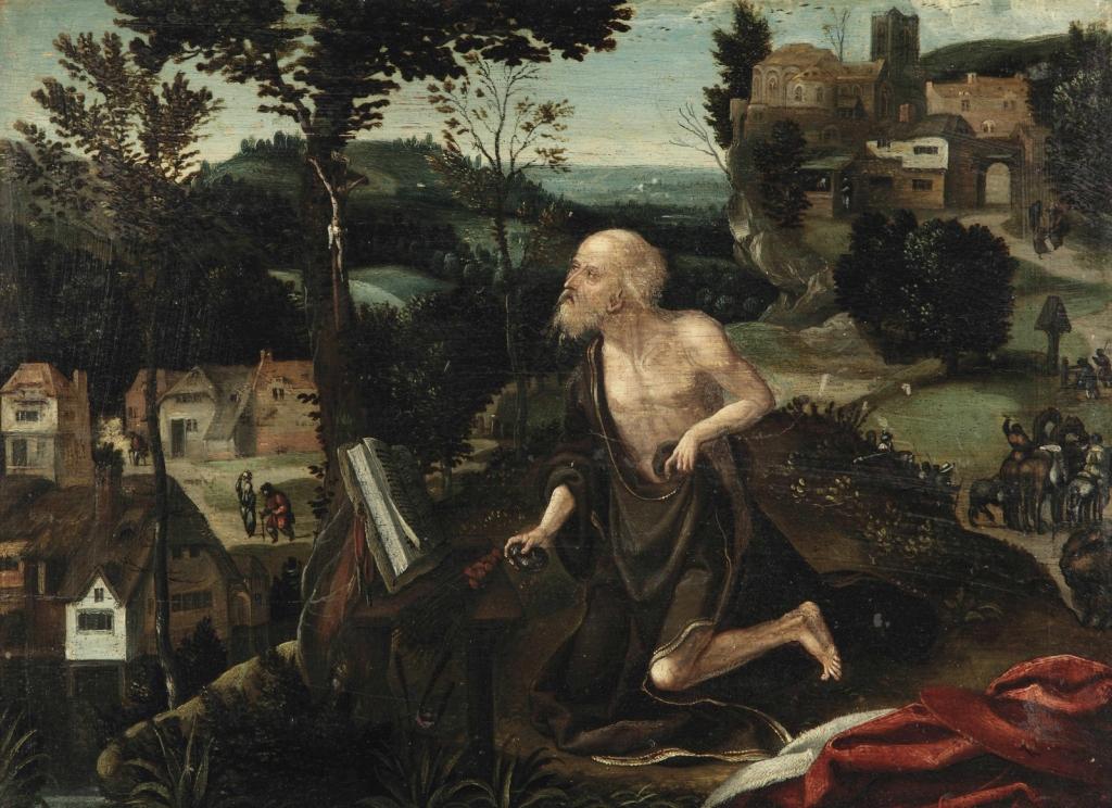 1 Святой Иероним кается в пейзаже.jpg