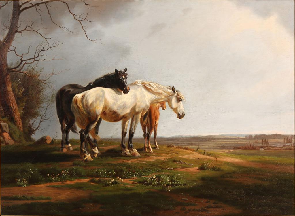 1024px-Adolf_Mackeprang_-_En_flok_heste_på_en_mark_i_lav_sol_-_1868.png