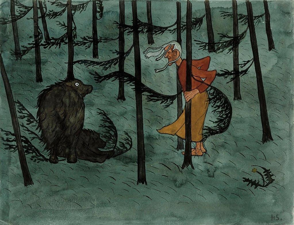 1024px-Hugo_Simberg_-_Fear_in_The_Woods_-_A_II_968-22_-_Finnish_National_Gallery.jpg