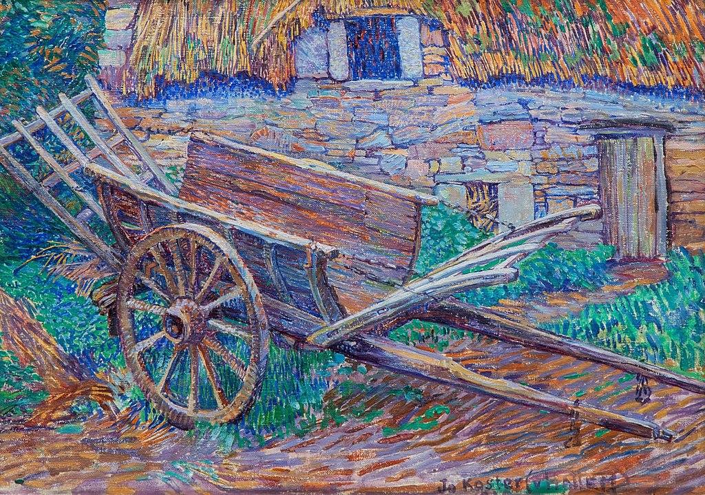 1024px-Jo_Koster_–_A_wheelbarrow_in_front_of_a_farm,_1920.jpg