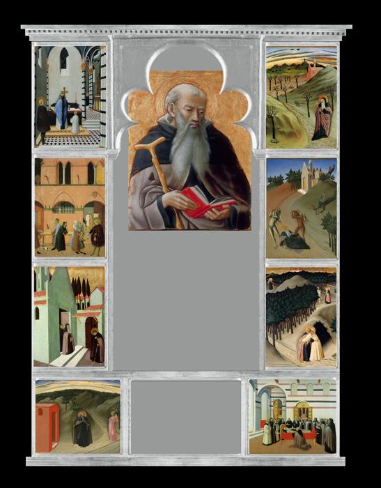 10_Osservanza_Master._Pala_di_Sant\'Antonio_abate._1436,_Reconstruction.jpg