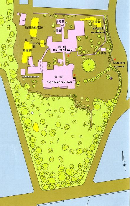 114.Имение семьи Мацумото.План.jpg