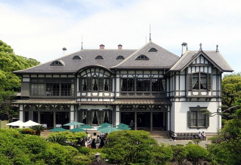 116.Имение семьи Мацумото.Южный фасад европейского дома.jpg