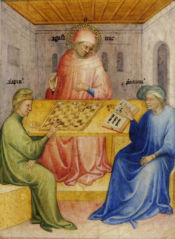 11_Nicolo_di_Pietro._The_Conversion_of_Saint_Augustin._1413-15_Mussee_des_Beaux-Arts,_Lyon.jpg