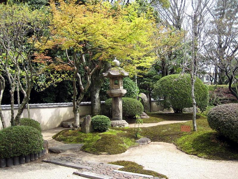 126.Имение семьи Мацумото.Внутренний сад японского дома 2.jpg