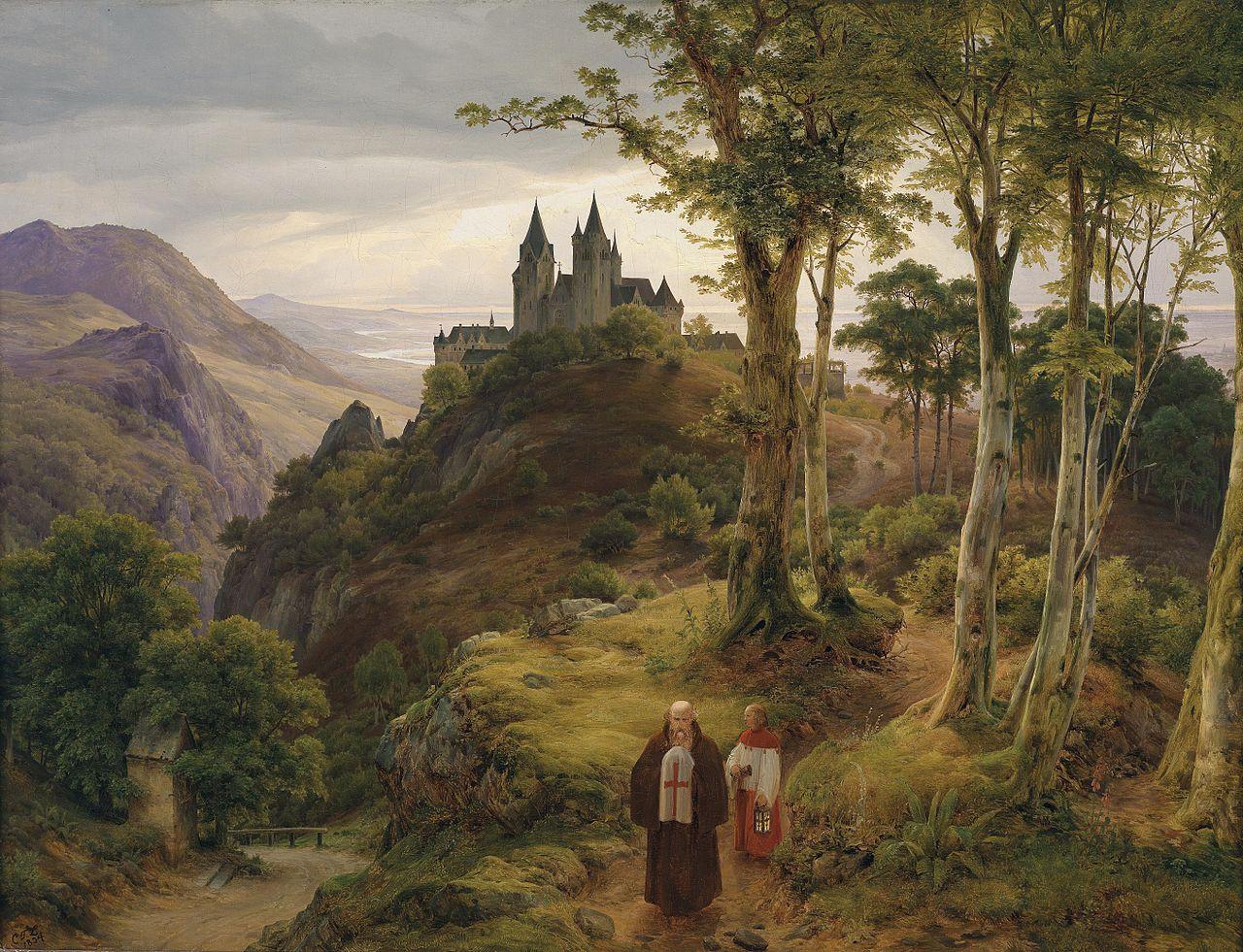 1280px-Carl_Friedrich_Lessing_Romantische_Landschaft_mit_Klosteranlage.jpg