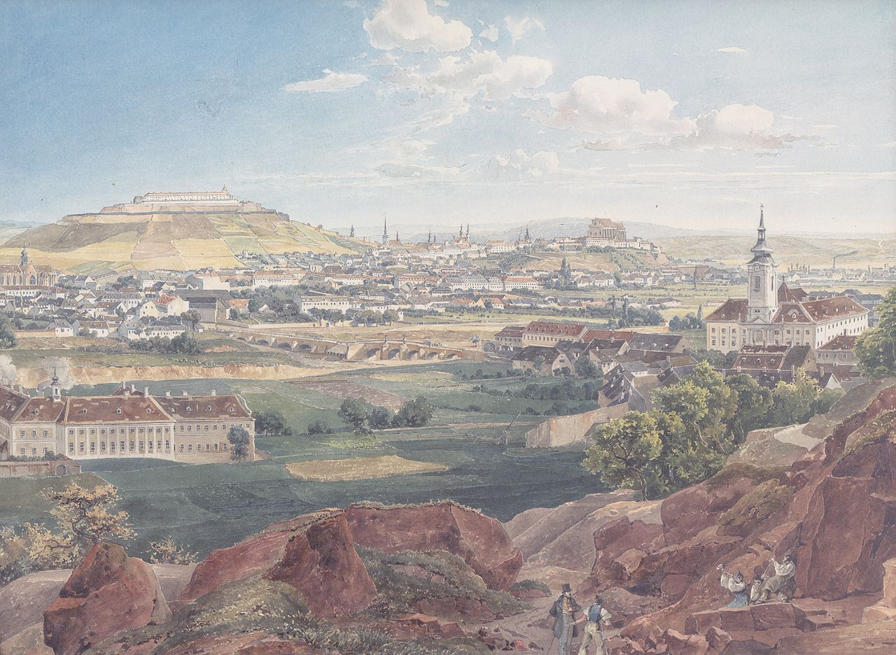 1280px-Eduard_Gurk_-_Brünn_vom_Roten_Berg_aus_-_1839.jpg