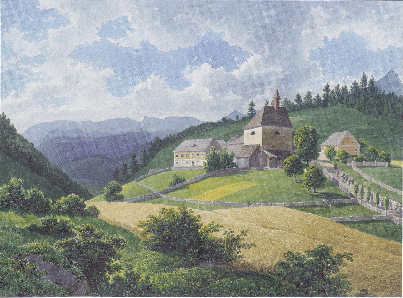 1280px-Eduard_Gurk_-_Gipfel_der_Josephberges_-_Erster_Anblick_der_steyrischen_Alpen.jpeg