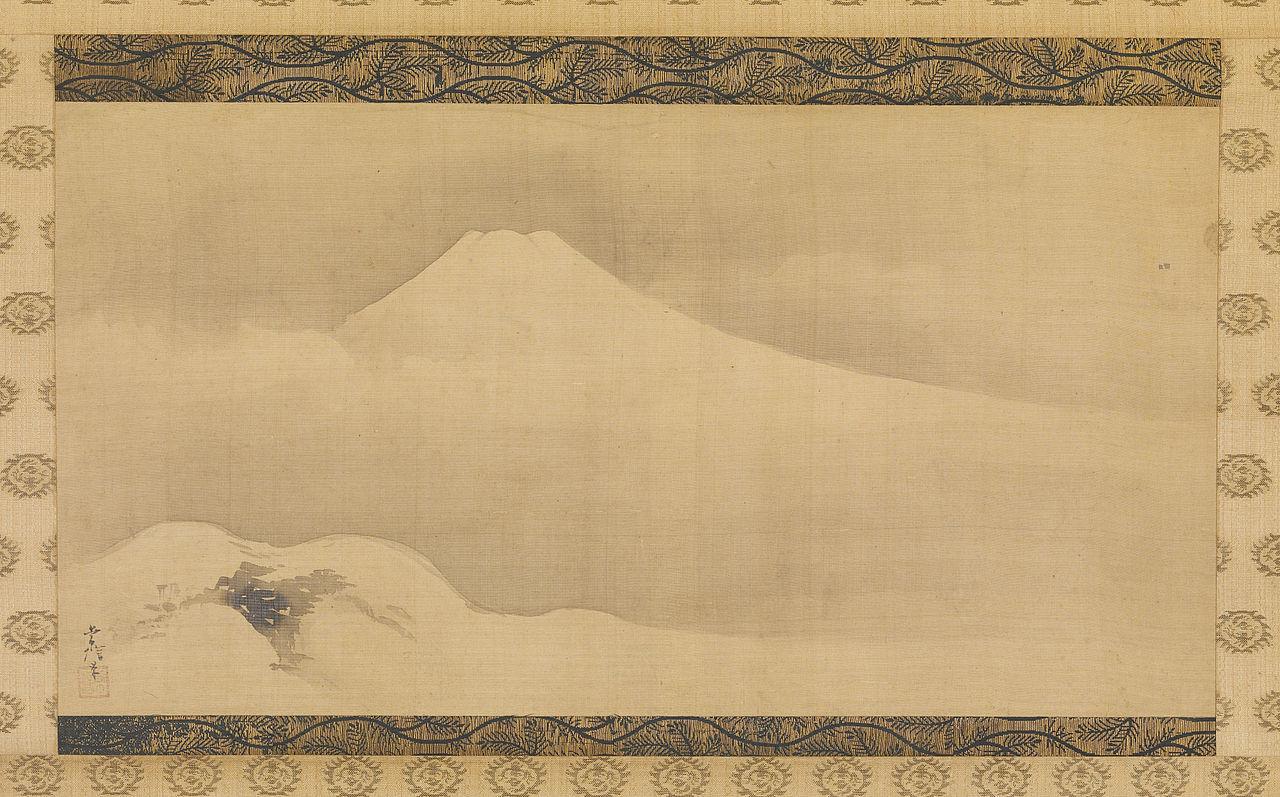 1280px-Kano_Tsunenobu_-_Mount_Fuji_in_the_Winter_-_Walters_35206.jpg