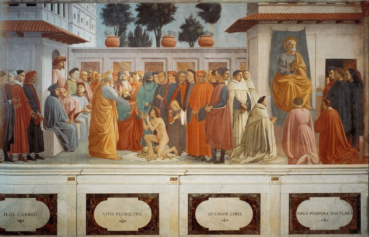 1280px-Masaccio._Raising_of_the_Son_of_Teophilus_and_St._Peter_Enthroned._fresco..jpg