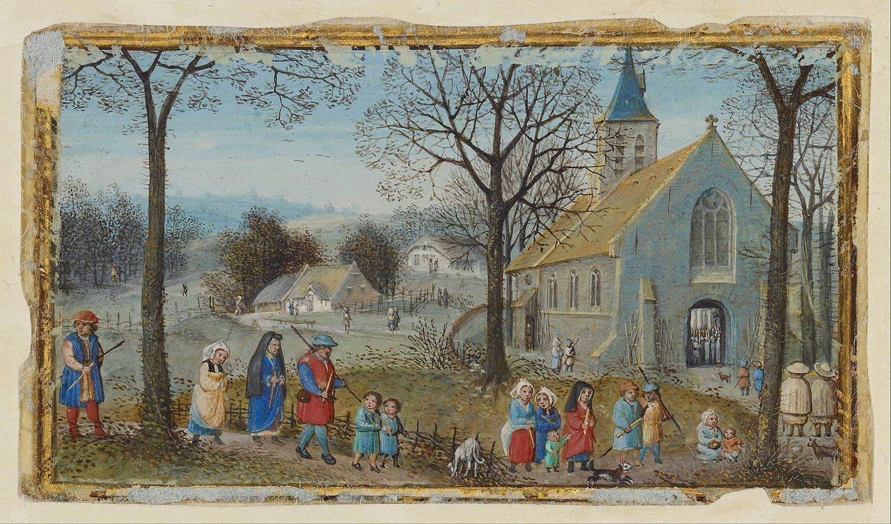 1280px-Simon_Bening_(Flemish_-_Villagers_on_Their_Way_to_Church_-_Google_Art_Project.jpg