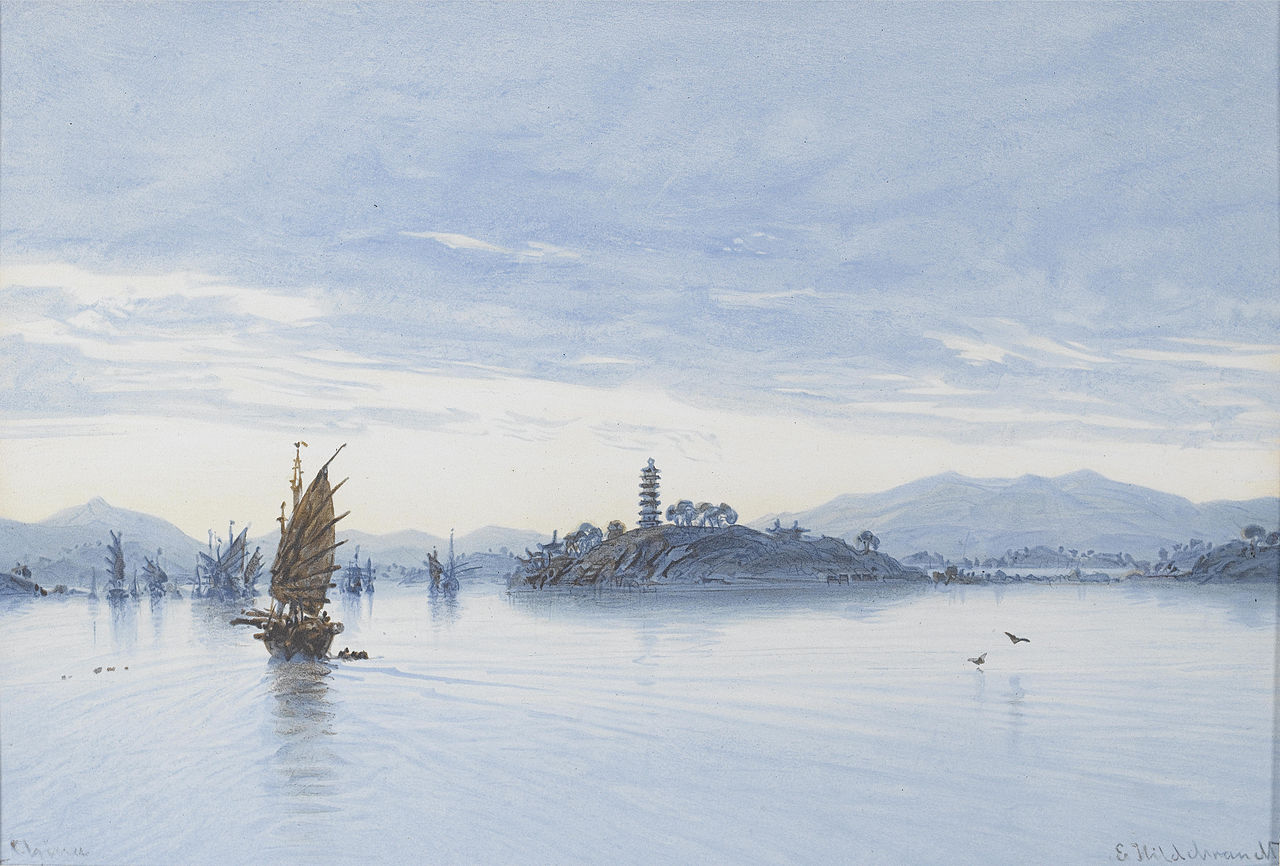 1280px-View_on_the_Pearl_River,_Macao_by_Eduard_Hildebrandt_(1850).jpg