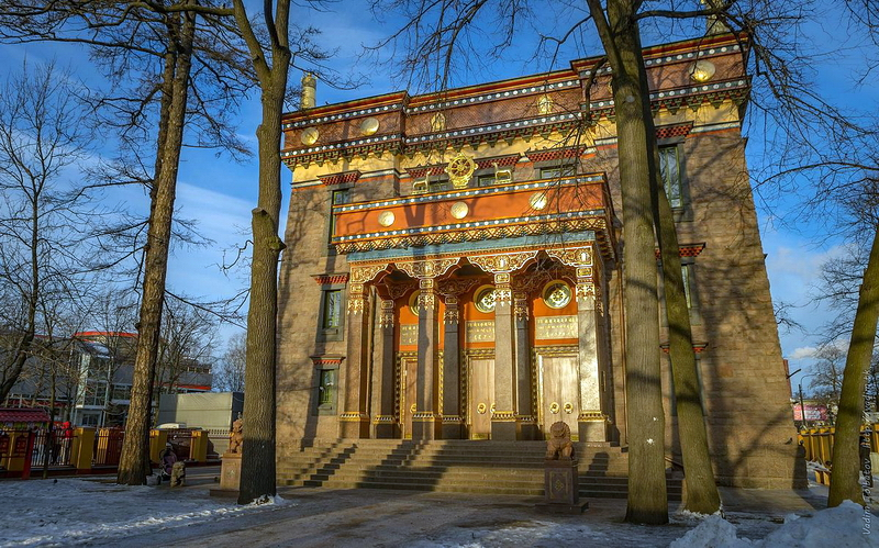 129.Г.В.Барановский.Буддийский храм.jpg
