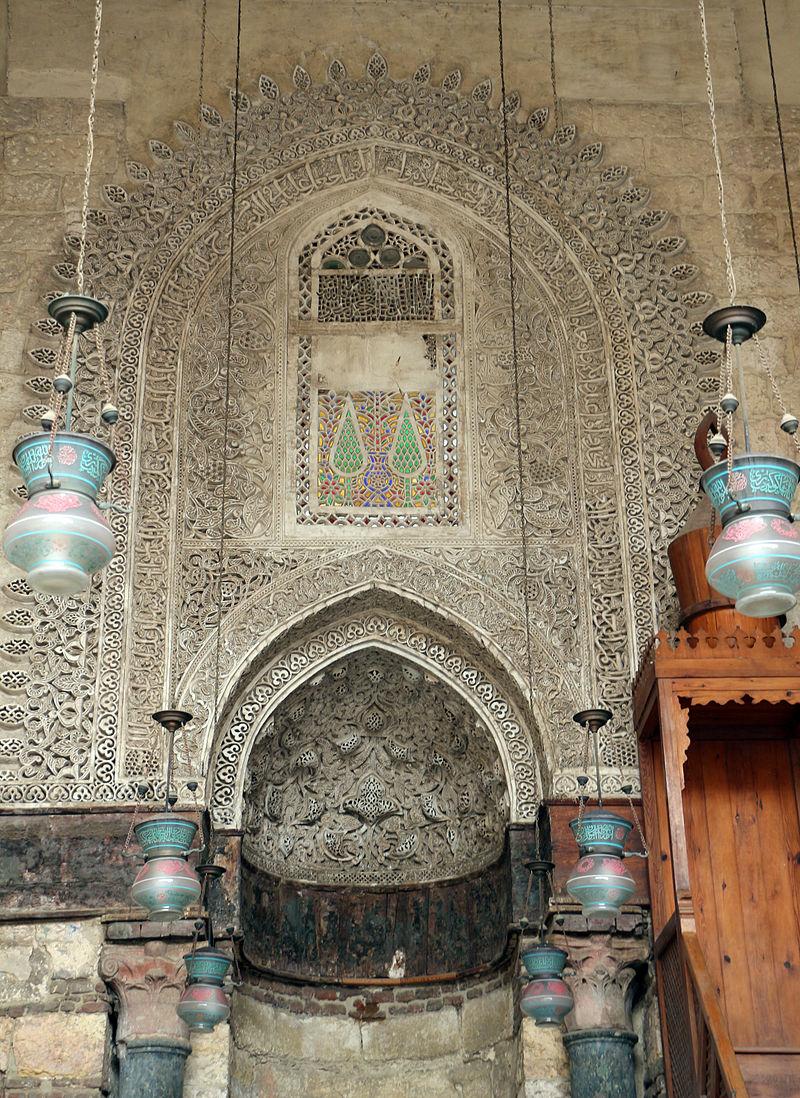 1303 египет Cairo,_madrasa_del_sultano_an-nasr_mohammed,_interno_06.JPG