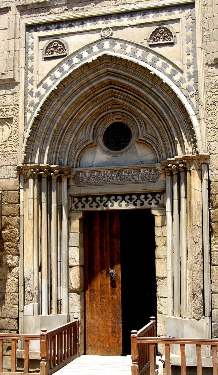 1303 египет Madrasa_of_Al-Nasir_Muahmmad_Portal.jpg