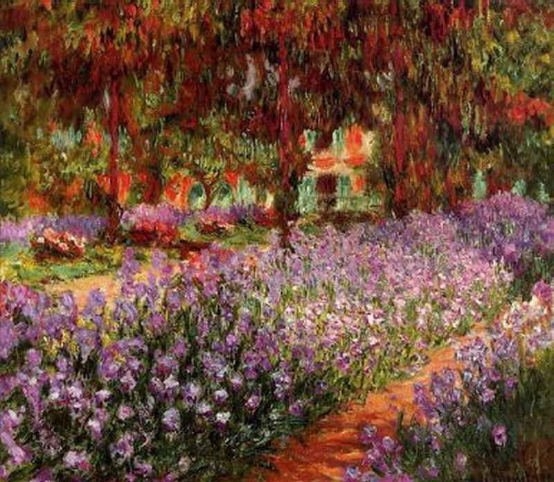 150.Клод Моне, Сад (Ирисы).jpg