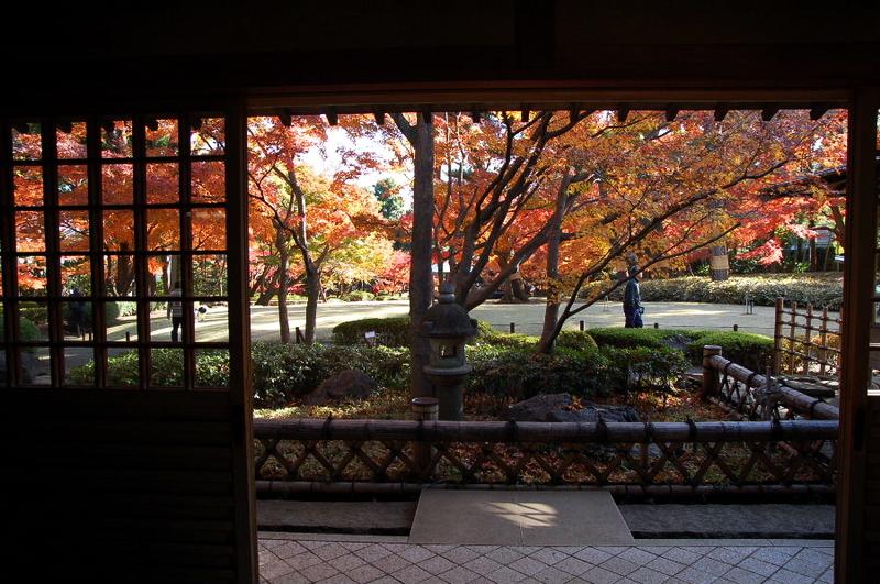 150.Оотагуро Мотоо. Внутренний сад.jpg