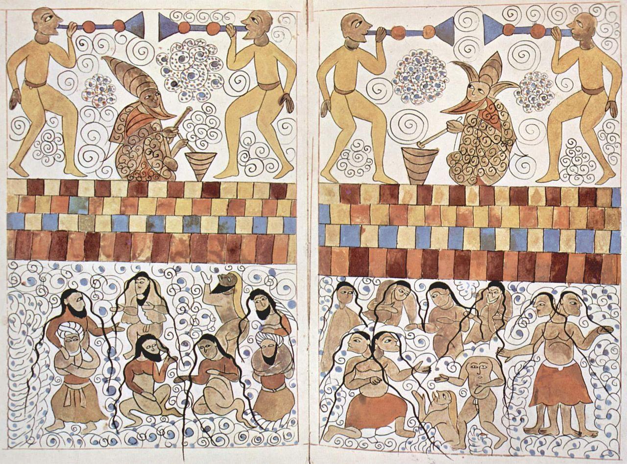 1563-65 г мироустройство и чудеса16d1280px-Arabischer_Maler_um_1565_001.jpg
